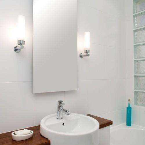 Bathroom Vanity Light Diffuser : Tubular Bathroom Wall Bracket - Creative Lighting Solutions