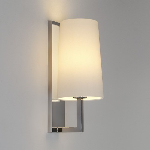 Vanity Light Fabric Shade : Cone Fabric Shade Vanity/Wall Light - Creative Lighting Solutions