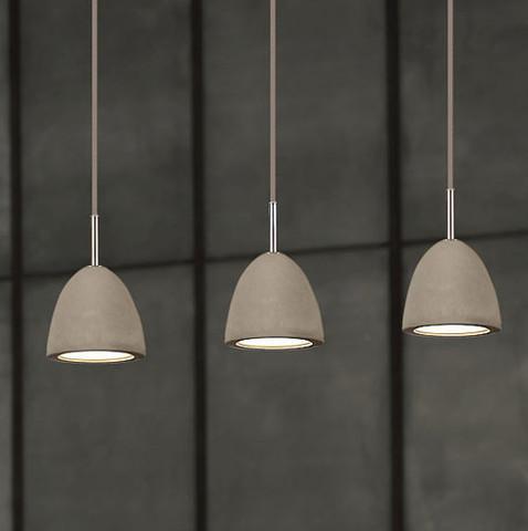 Concrete Pendant Creative Lighting Solutions