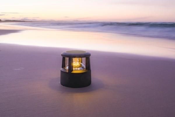 R & Rainbow Mini Solar LED Bollard By Seaside Lighting - Creative ...