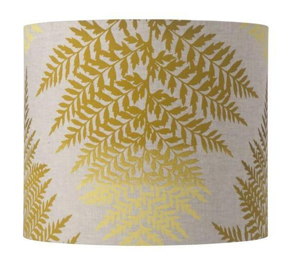 Fern leaves drum lampshade 4 colours creative lighting solutions f keyboard keysfo Image collections