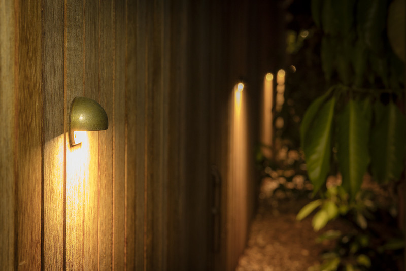Cottesloe Solid Bronze Wall Step Light Creative Lighting