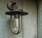 Vintage Exterior Wall Light / 2 Finishes