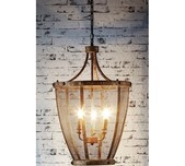 Rustic Mesh 3 Light Pendant