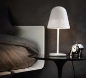 Capri Table Lamp / 2 Sizes / 2 Finishes