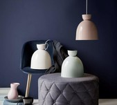 Scandinavian Classic Circular Pendant Light / 2 Sizes / 4 Finishes