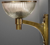 Retro Brass Wall Light