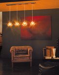 Diamante Multiple Pendant / 3 Styles / 2 Finishes