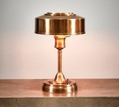 Brass Deco Table Lamp
