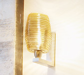 Damasco Wall Light / Single or Twin / 2 Colours