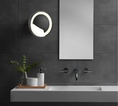 Adjustable Shaving Wall Mirror