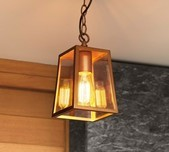 Classic Outdoor Pendant / 2 Sizes / 3 Finishes