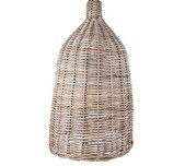Beachy Rattan Pendant Light