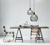 Black Designer Pendant Light / 3 Sizes