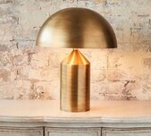 Brass Dome Top Table Lamp