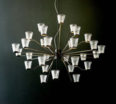 Canaletto 30 Light Chandelier / 2 Finishes