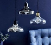 Classic Nordic Glass Pendant / 3 Finishes