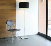 Classic Floor Lamp / 3 Finishes / 5 Shade Selections