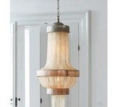 Coastal Rustic French Style Chandelier