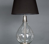 Contemporary / Classic Glass Table Lamp
