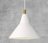 Danish Style Architects Pendant Light / 2 Finishes