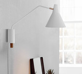 Danish Style Architects Wall Light / 2 Finishes