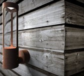 Danish Designer Exterior Wall Light / 2 Finishes