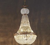 French Empire Style Chandelier / 2 Sizes