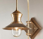 Hamptons Brass Wall Bracket