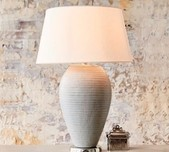 Grey Ceramic Table Lamp Base