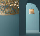 WIND Exterior Pendant Lamp / 2 Sizes / 3 Colours