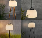 Danish Portable Indoor/Outdoor Lights / 2 Sizes / 5 Configuratons