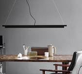 LED Adjustable Linear Pendant /  2 Finishes