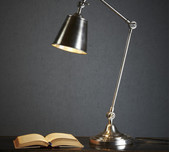Luxe Desk Lamp / 2 Finishes