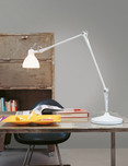 Luxy T2 Table Lamp / 3 Stem Finishes / 5 Shade Colours