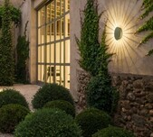 Meridiano Outdoor Wall Lamp / 3 Finishes