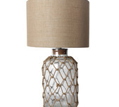 Nautical Glass Table Lamp
