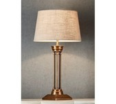 New York Style Table Lamp Base / 3 Finishes