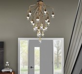 Patrona Suspension Light / 2 Finishes