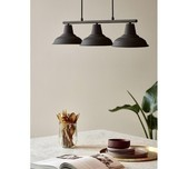 Rust Brown Nordic 3L Pendant