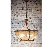 Rustic Mesh 6 Light Pendant
