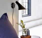 Scandi Design Wall Light / 2 Finishes