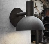 Scandi Style Exterior Wall Light / 2 Finishes