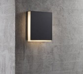 Slimline LED Contemporary Wall Light / 2 Finishes