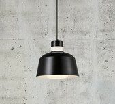 Swiss Glass & Metal Pendant 25 / 2 Finishes