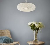 Perforated Saucer Pendant Light