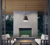 Bowman Outdoor Pendant / 2 Sizes / 3 Finishes