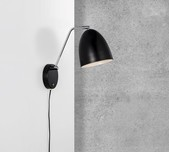 Timeless Nordic Wall Light / 2 Finishes