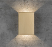 Up & Down Slimline LED Multi-Effect Wall Light / 5 Finishes