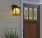 Wright House 1L Outdoor Lantern